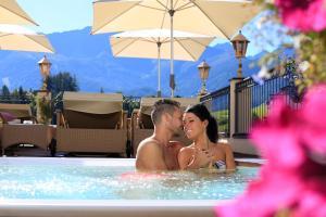 Alpen-Herz Romantik & Spa - Adults Only, Szállodák  Ladis - big - 107