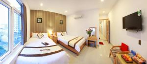 Valentine Hotel, Hotels  Da Nang - big - 11
