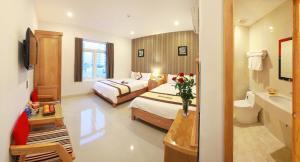 Valentine Hotel, Hotels  Da Nang - big - 8