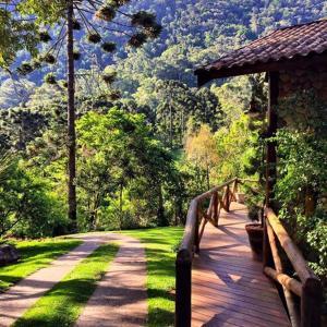 Refúgio Mantiqueira, Chaty v prírode  São Bento do Sapucaí - big - 80