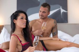 Alpen-Herz Romantik & Spa - Adults Only, Hotely  Ladis - big - 6