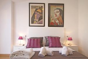 Flatsforyou Port Design, Apartmány  Valencie - big - 82