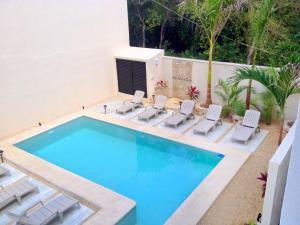 Paradise in Tulum - Villas la Veleta - V2, Prázdninové domy  Tulum - big - 37
