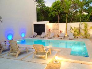 Paradise in Tulum - Villas la Veleta - V2, Prázdninové domy  Tulum - big - 60