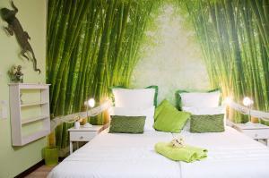 Стандартный двухместный номер с 1 кроватью или 2 отдельными кроватями («Бамбук»)