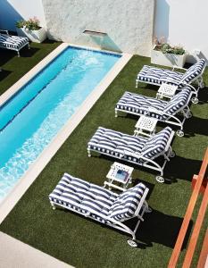 Двухместный номер с 1 кроватью и видом на бассейн
