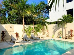 Paradise in Tulum - Villas la Veleta - V2, Prázdninové domy  Tulum - big - 9