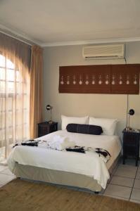 Dreibettzimmer mit Dusche