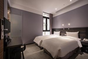 Yi Su Hotel-Taipei Ningxia, Hotely  Tchaj-pej - big - 57