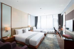 I Square Hotel, Hotels  Gimhae - big - 4
