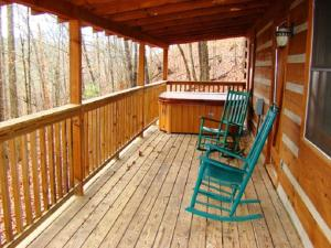 Honeymoon Hideaway Home, Dovolenkové domy  Bryson City - big - 14