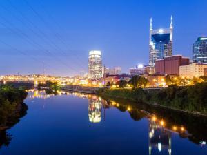 Nashville House 1342 Tennessee Townhouse, Ferienwohnungen  Nashville - big - 4