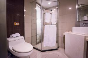 Motel Shanghai South Railway Station Shanghai Normal University, Hotel  Shanghai - big - 9