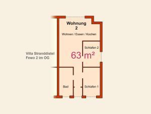 Ferienwohnungen Stranddistel, Apartmány  Zinnowitz - big - 48