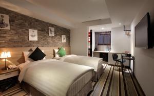 RF Hotel - Zhongxiao, Hotely  Tchaj-pej - big - 14