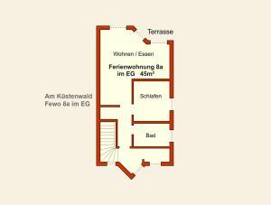 Ferienwohnungen Stranddistel, Apartmány  Zinnowitz - big - 47