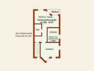 Ferienwohnungen Stranddistel, Apartmány  Zinnowitz - big - 39