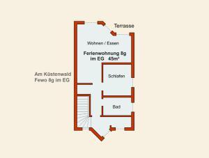 Ferienwohnungen Stranddistel, Apartmány  Zinnowitz - big - 36