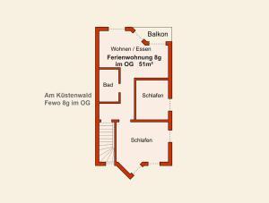 Ferienwohnungen Stranddistel, Apartmány  Zinnowitz - big - 35