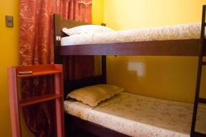Cama en habitación mixta compartida de 4 camas