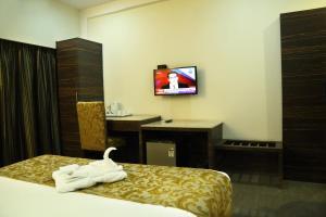 The Majestic Suites, Отели  Калькутта - big - 25