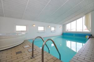 Holiday home Ørredvej H- 3356, Dovolenkové domy  Nørre Vorupør - big - 12