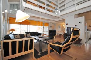 Holiday home Ørredvej H- 3356, Dovolenkové domy  Nørre Vorupør - big - 8