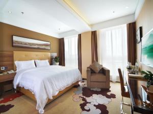 Shanshui Trends Hotel Nanjing South Railway Station, Отели  Нанкин - big - 14