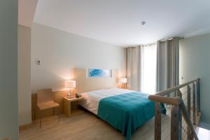 Hotel Praia, Отели  Назаре - big - 7