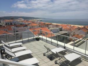 Hotel Praia, Отели  Назаре - big - 60