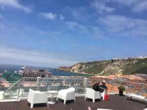 Hotel Praia, Отели  Назаре - big - 64