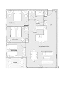 Stay-In Riverfront Lofts, Апартаменты  Гданьск - big - 60
