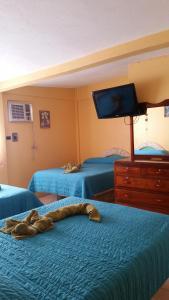 Hotel y Balneario Playa San Pablo, Отели  Monte Gordo - big - 42
