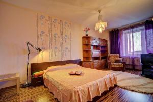 Apartment at Prospekt Bolshevikov, Ferienwohnungen  Sankt Petersburg - big - 13