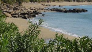 Ktima Grammeno Beachside Villa, Vily  Kountoura Selino - big - 9
