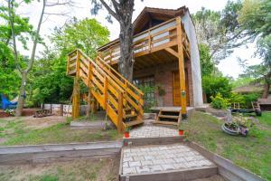 Cabañas Gonzalez, Lodge  Villa Gesell - big - 72