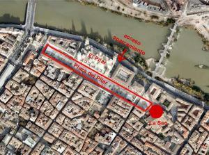 Hotel Tibur, Hotely  Zaragoza - big - 9