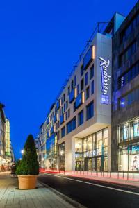 Radisson Blu Hotel, Mannheim, Hotely  Mannheim - big - 1