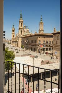 Hotel Tibur, Hotely  Zaragoza - big - 14