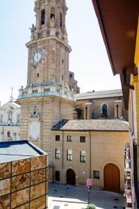 Hotel Tibur, Hotels  Saragossa - big - 13