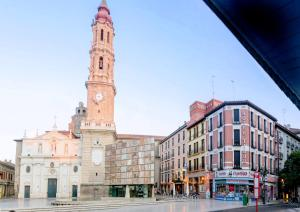 Hotel Tibur, Hotely  Zaragoza - big - 33