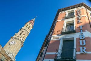 Hotel Tibur, Hotely  Zaragoza - big - 53