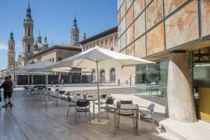 Hotel Tibur, Hotels  Saragossa - big - 12