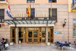 Hotel Tibur, Hotely  Zaragoza - big - 43