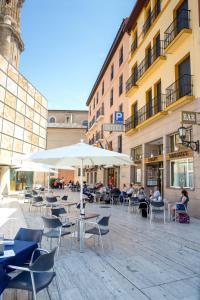 Hotel Tibur, Hotely  Zaragoza - big - 11