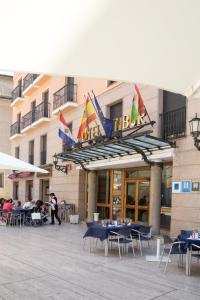 Hotel Tibur, Hotely  Zaragoza - big - 51