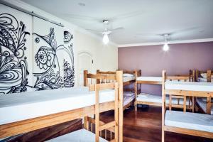 Cama en dormitorio mixto de 12 camas
