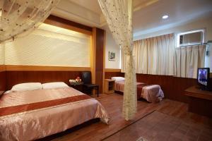 Sun Moon Lake Honeymoon Hotel, Szállodák  Jücsi - big - 10
