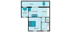 Roedean Crescent, Апартаменты  Брайтон-энд-Хов - big - 9