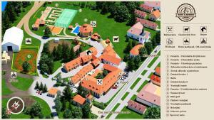 3 stern pension Ranč u Bobiho Nový Tekov Slowakei
